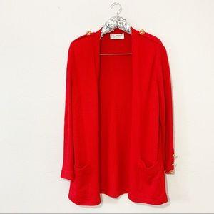 ST. JOHN Sportswear by Marie Gray Cardigan SZ M